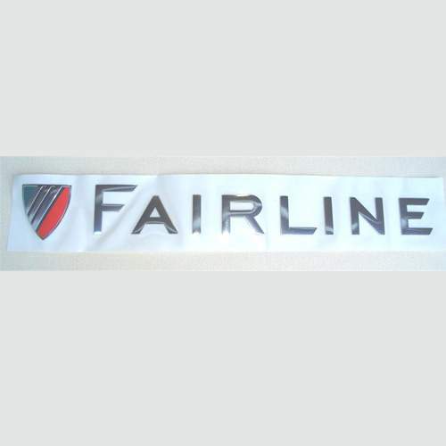 39035 FAIRLINE LOGO WITH SHIELD