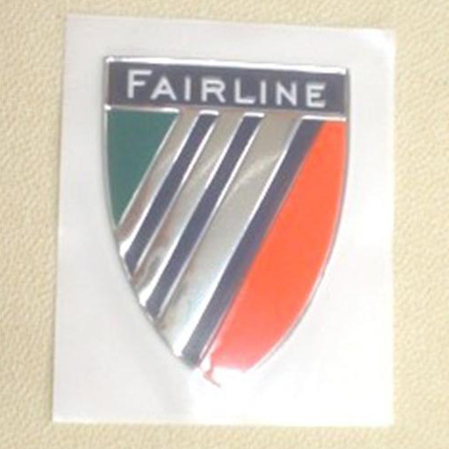 39036 FAIRLINE LOGO WITH SHIELD BADGE