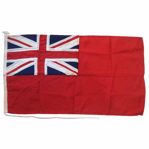 Red Ensign All Sewn 69 x 33cm Nominal 3/4 Yard