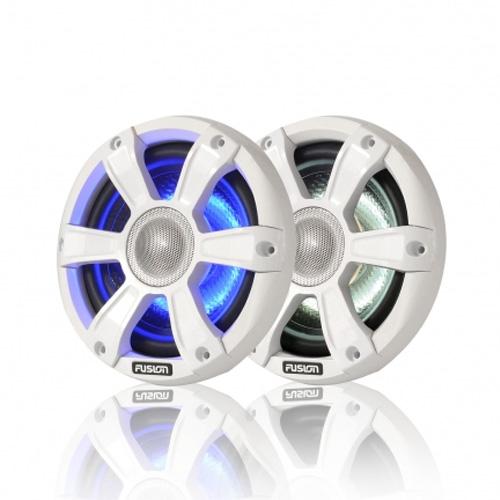 FUSION 6 WHITE LED SPEAKERS